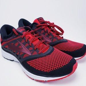 NEW Brooks Revel Mens Red & Black Running Shoes